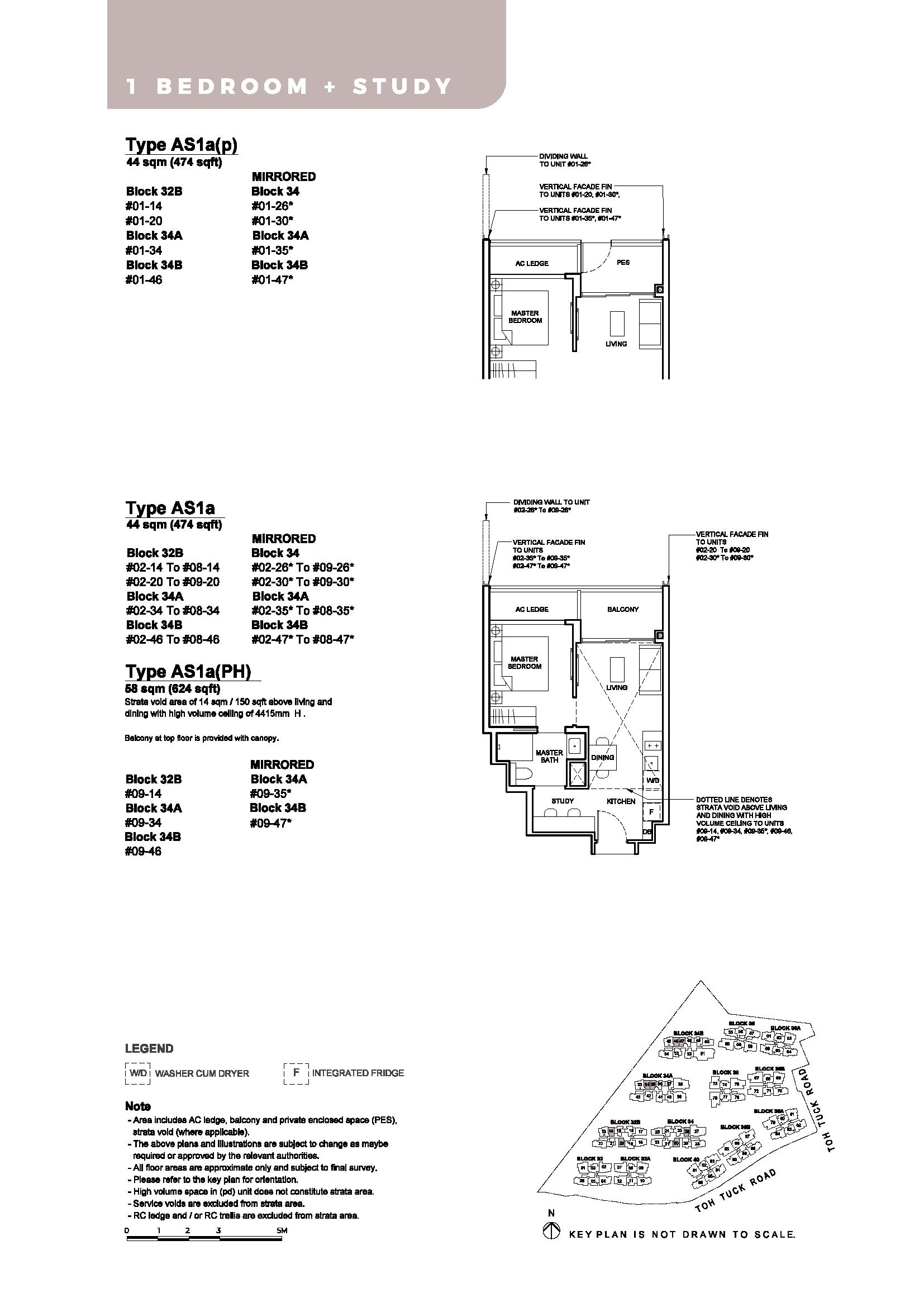 Type A1Sa, A1Sa(p), A1s(PH)