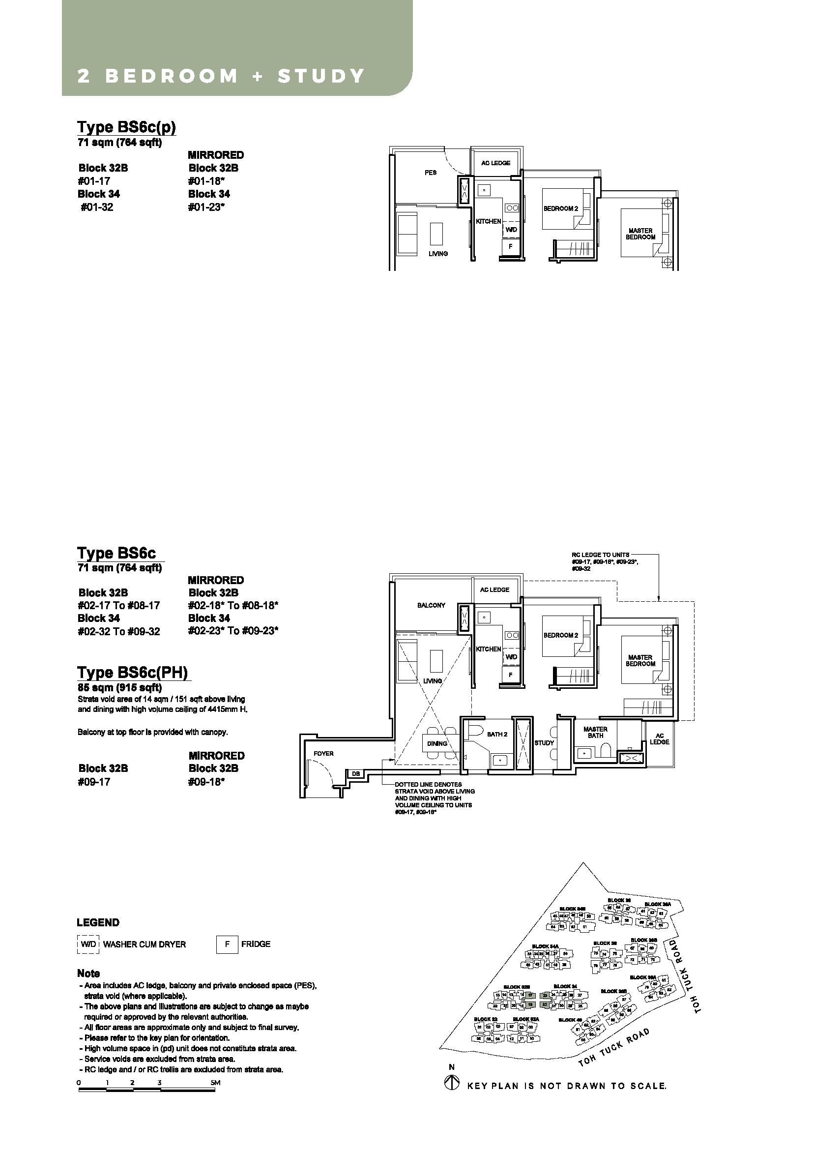 Type BS6c, BS6c(p), BS6b(PH)