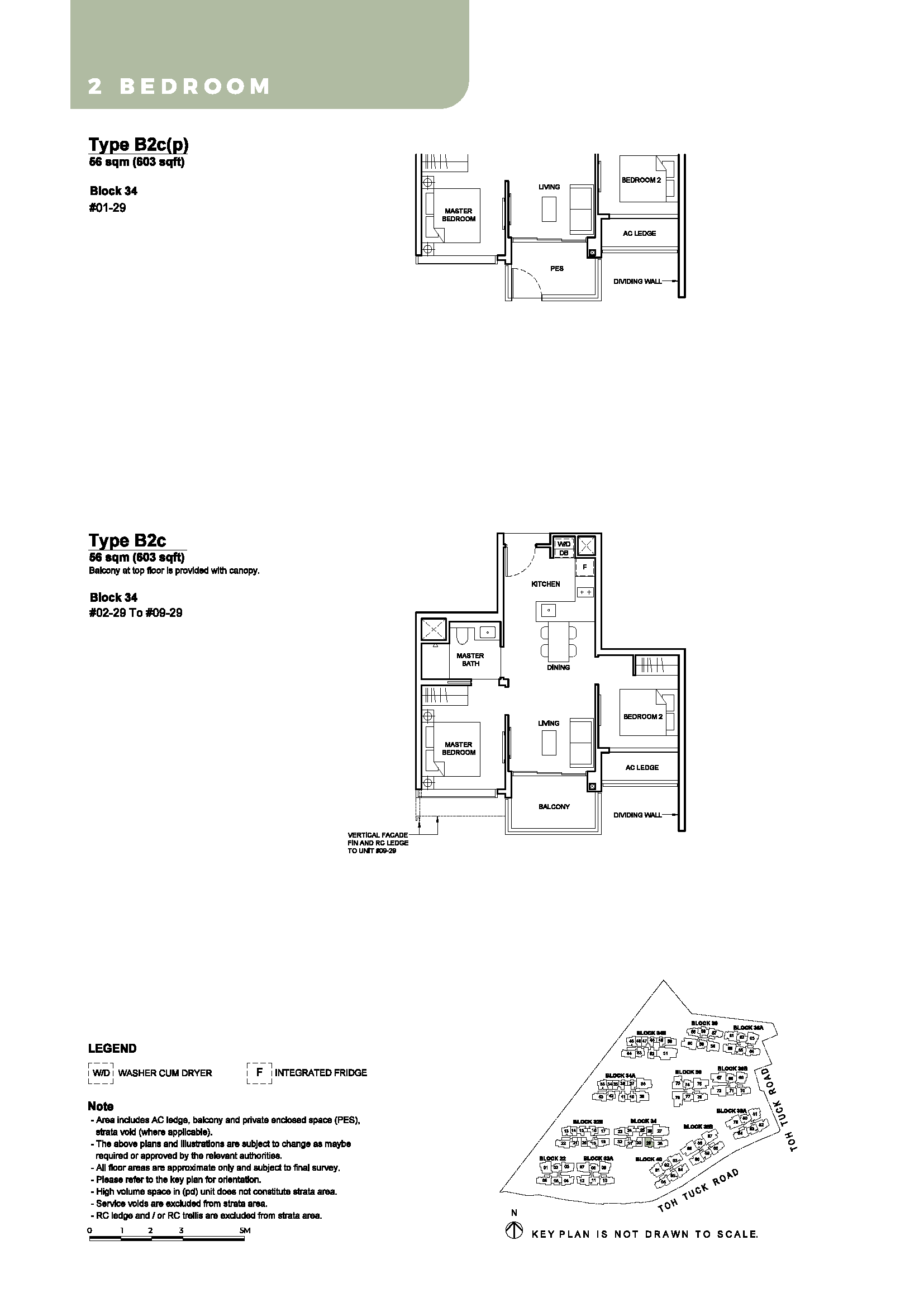 2 Bedroom - Type B2c - B2c(p)